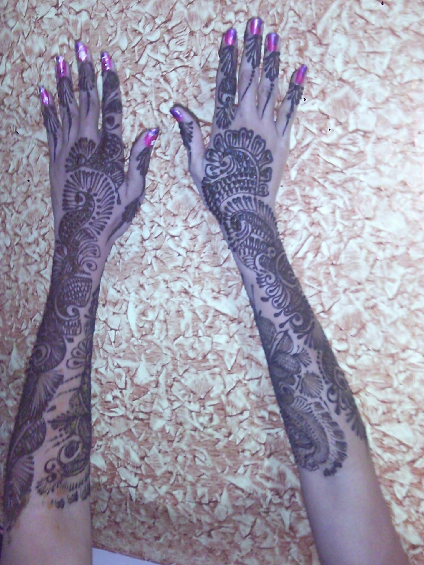 Bridal Mehndi on Hands